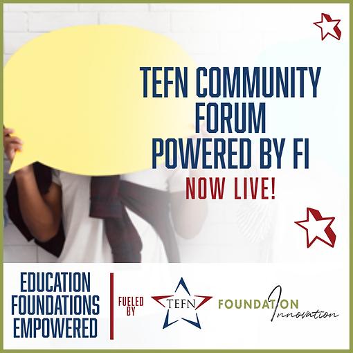 REVISED TEFN Community Forum Website Gra
