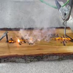 Fractal Burning