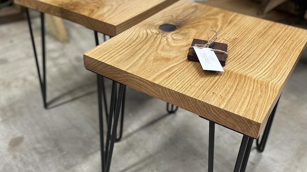 Oak End Tables