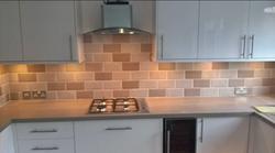 Kitchen Brick effect