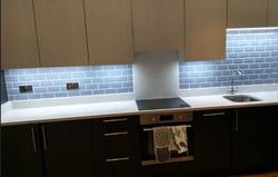 blue crackle glaze kitchen tiles
