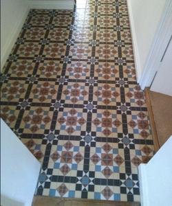 Victorian Tile Effect