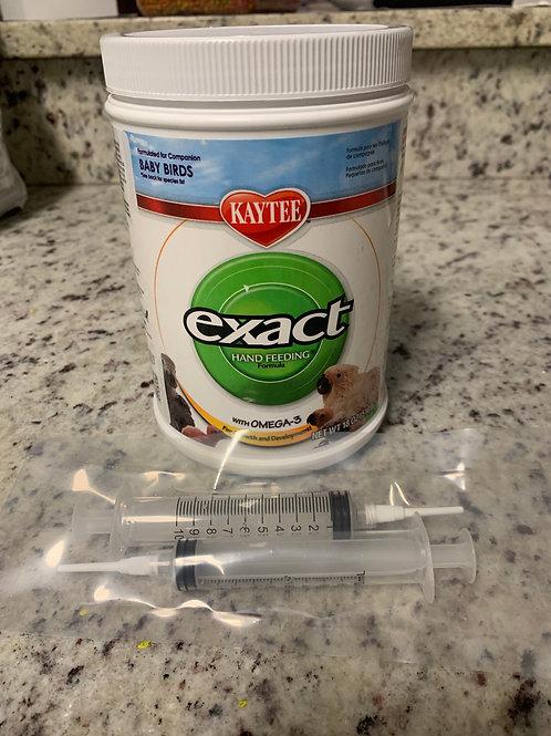 Hand Feeding Formula w/ Syringes