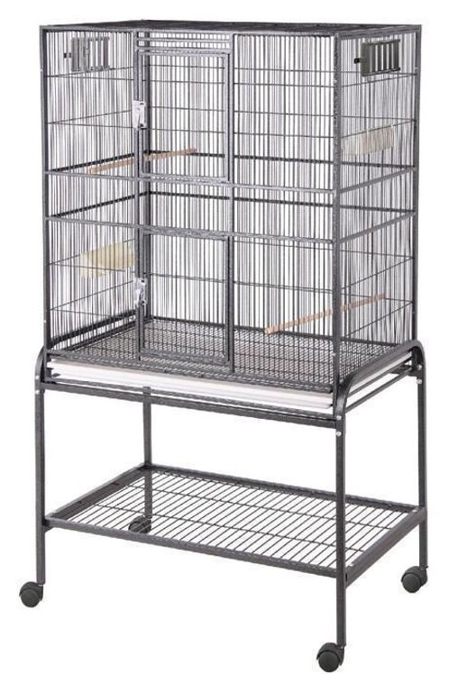Cage Large Flight Aviary Black