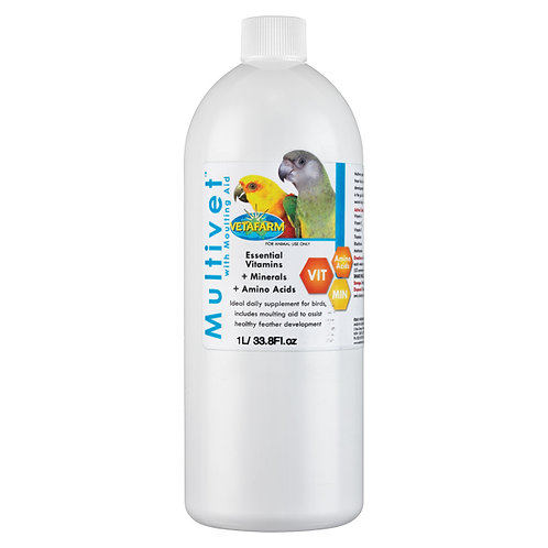 MultiVet- MultiVitamin w/ Moulting Aid