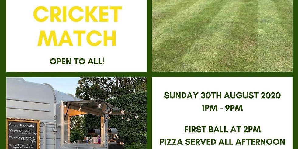 Memorial Cricket Match - everyone is welcome