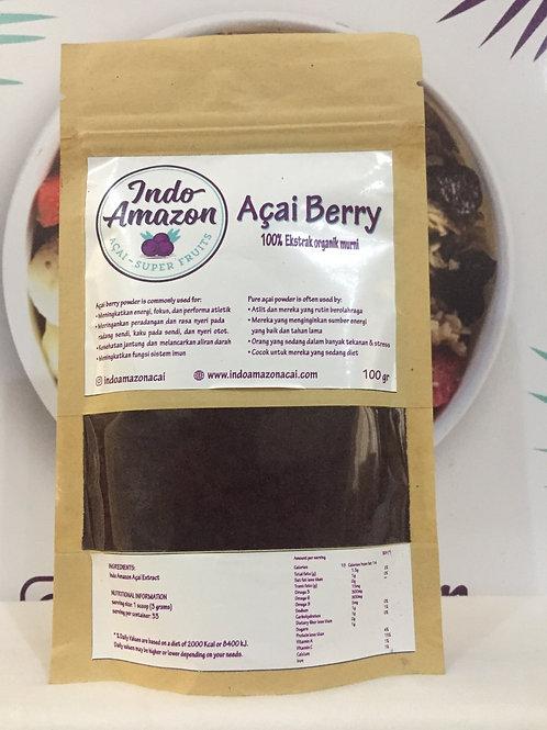 Organic Açai Extract Powder 100% pure