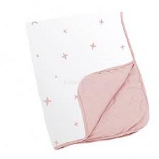 Kuschelweiche Babydecke Doomoo -Stars Pink