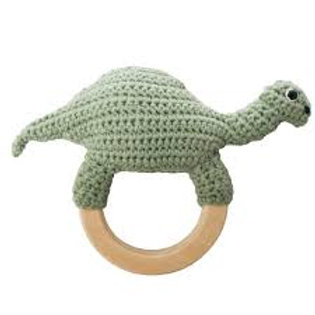 Häkelrassel Dino - Sebra