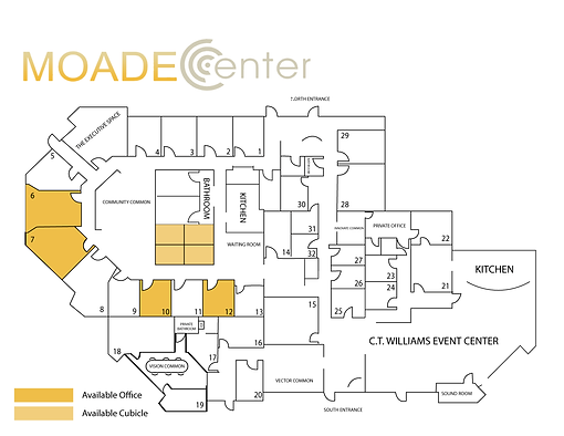 Moade Center - Available Offices 1-2021-