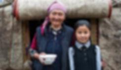 central-asia-yurt-grandmother-daughter-2