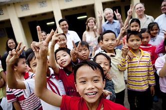 children and REI volunteers.jpg