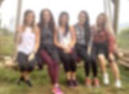 (L-R) Taylor, Samantha, Katherine, Maria