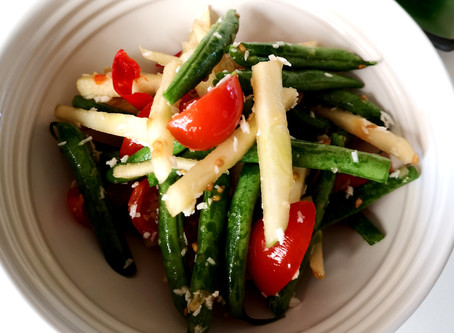 Apple and Green Bean Salad