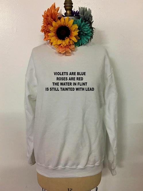 Flint Valentine's Day Crewneck Sweatshirt