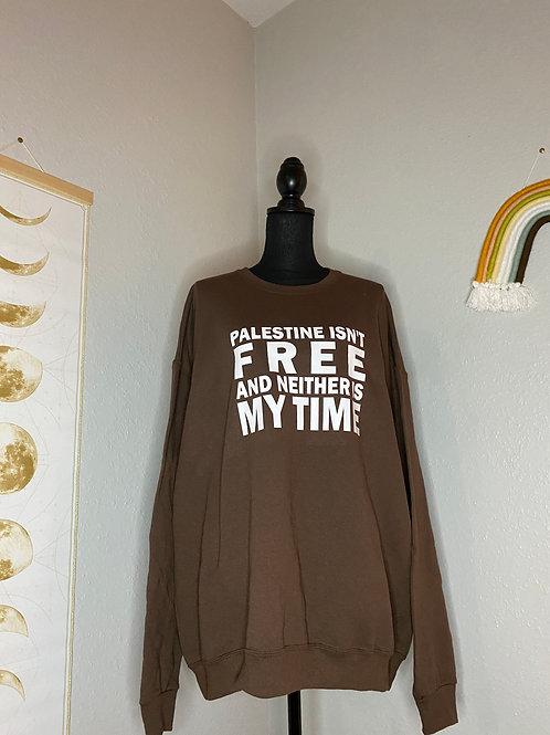 Free Palestine Crewneck 2XL