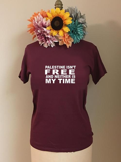 Free Palestine Crewneck T-Shirt