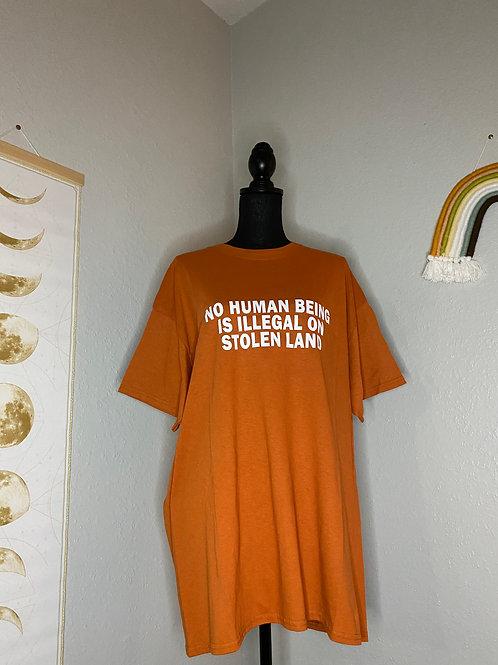Stolen Land T-Shirt XL