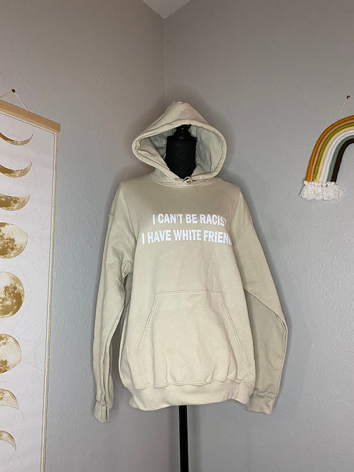 Can't Be Racist Hoodie MD (Glitter)