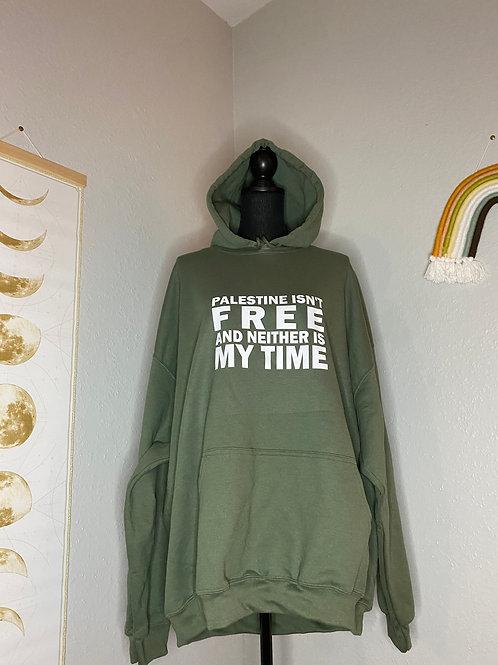 Free Palestine Hoodie 2XL