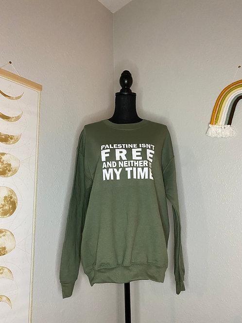 Free Palestine Crewneck MD