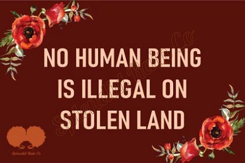 Stolen Land Postcard