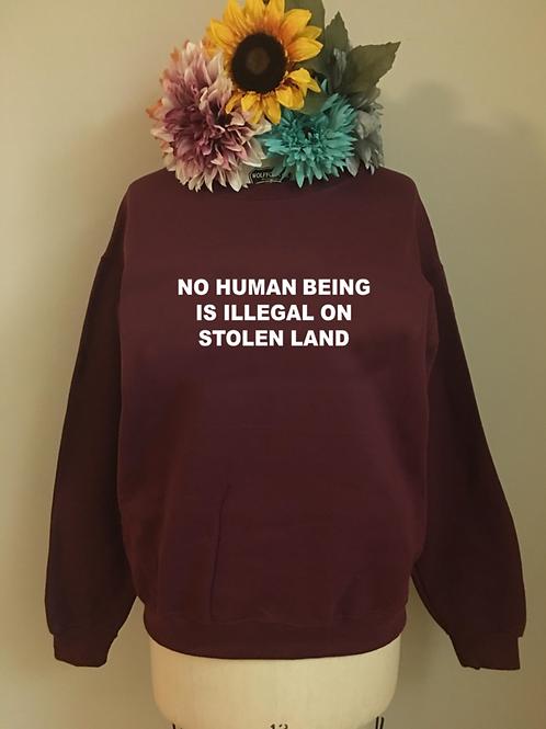 Stolen Land Crewneck Sweatshirt