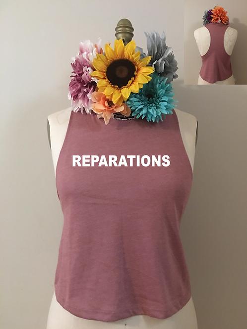 Reparations Crop Tank