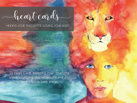 Heart Cards - Minding You Thoughts, Loving your Body
