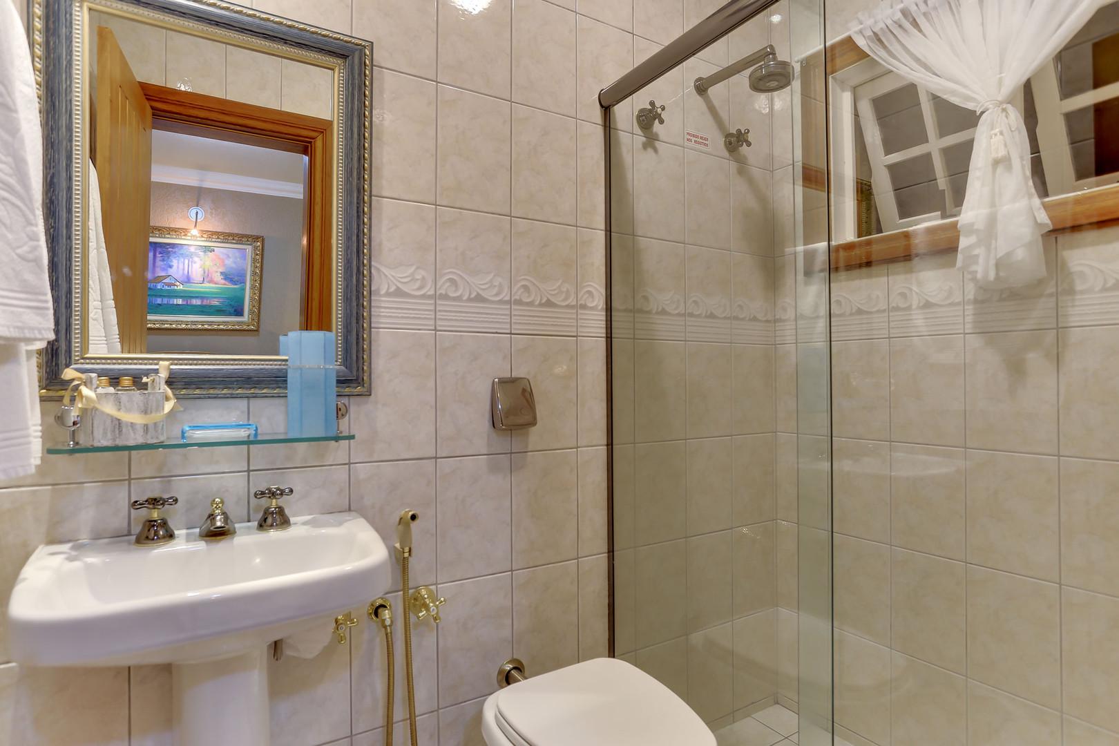 Banheiro - Apartamento LUXO