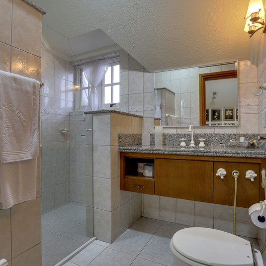 Banheiro - Apartamento Luxo Especial