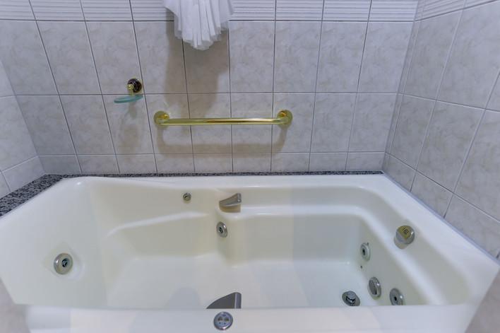 Hidromassagem dupla - Apartamento SUPER LUXO