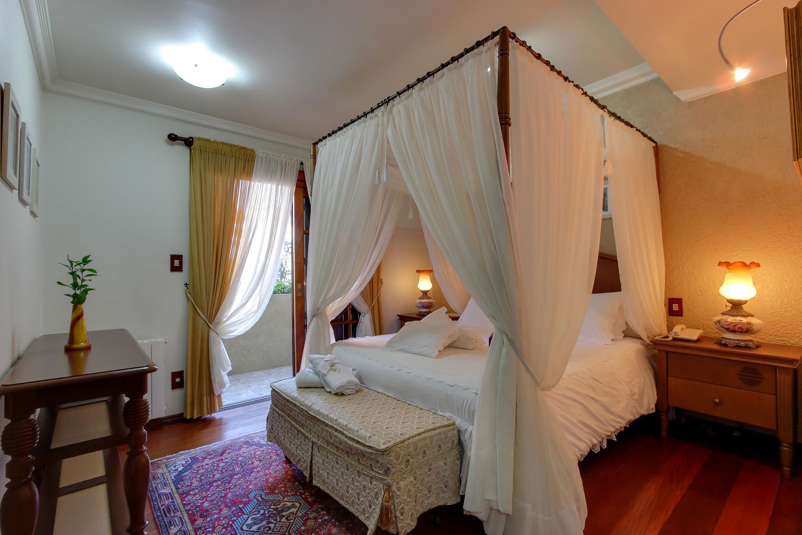 Cama com dossel - Apartamento SUPER LUXO ESPECIAL
