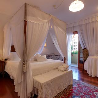 Cama dossel- Apartamento Florença