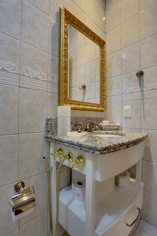 Banheiro -  Apartamento SUPER LUXO