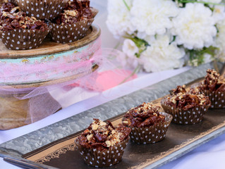 Wonton Chocolate Haystacks with Smokehouse Almonds