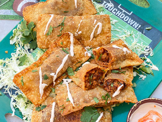 MexiAsian Sloppy Joes Egg Roll Hand Pies