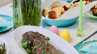 Easter Feast with Australian Beef Tenderloin