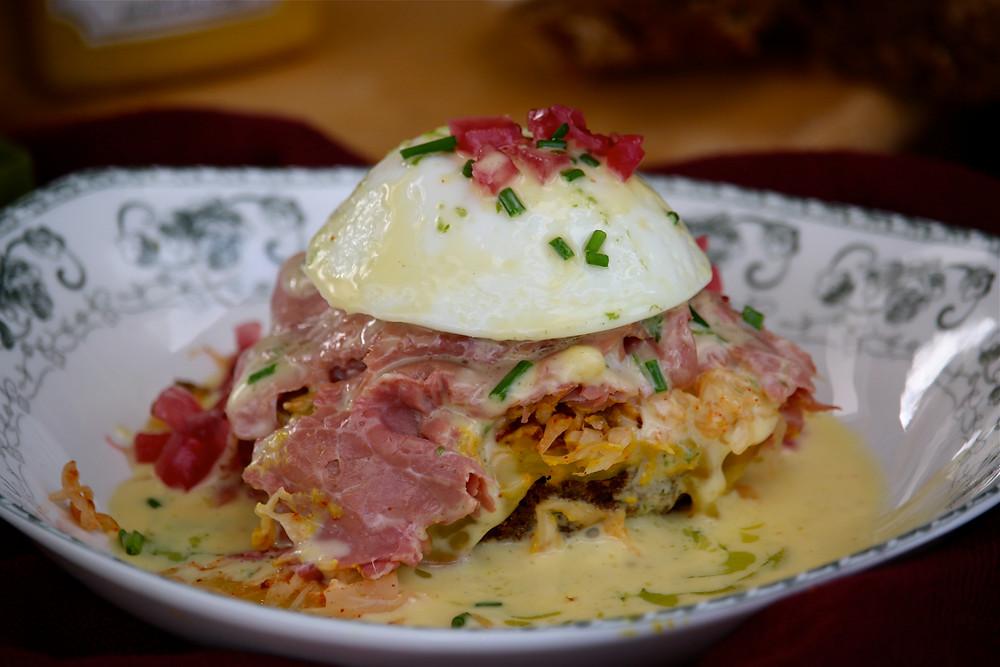 Merry Graham Eggs Benedict Recipe