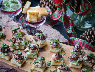 Pretty Pork Holiday Appetizers