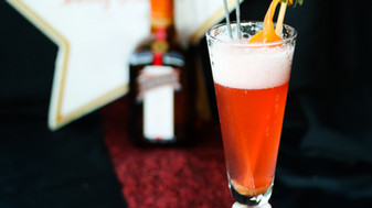 Red Carpet Sizzler with Cointreau