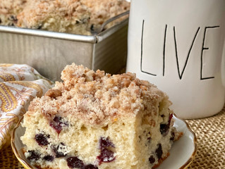 Family Fave: Blueberry Buckle