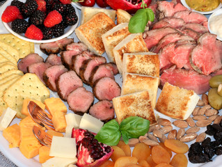 Start the Year out Healthy with an Aussie Grassfed Beef and Lamb Charcuterie Board!