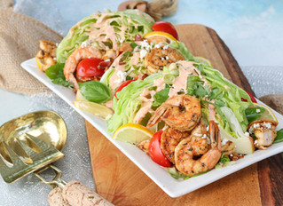 The Shrimp Wedge Salad I Can't Stop Eating!