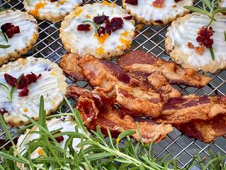 Easy Bacon Shortbread!