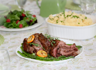 Simply Spring with Aussie Leg of Lamb