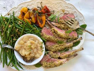 Party-Thyme & Sage Cashew Crumb Aussie Lamb Chops