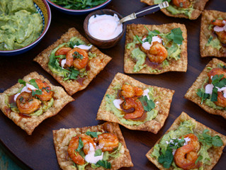 Easy Shrimp Wonton Appetizer