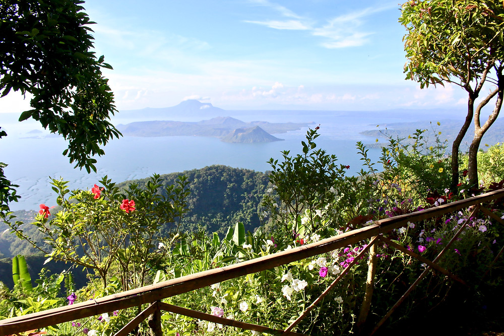 View from Ridge Park, Tagaytay, Philippines