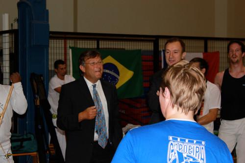 Visite de M. le Maire de Schiltigheim